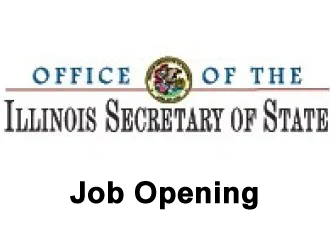 Job Opening - Secretary of State